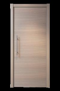 Design deur eik Horizontaal fineer met motief D53